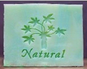 Natural Tree Resin Seal Soap Stamp For Handmade Soap Candle Fimo Crafts DIY Chapter Soap