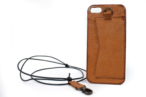 Credit card leather case for Apple iPhone or Samusng Google Pixel Huawei credit card holder and leather neck lace