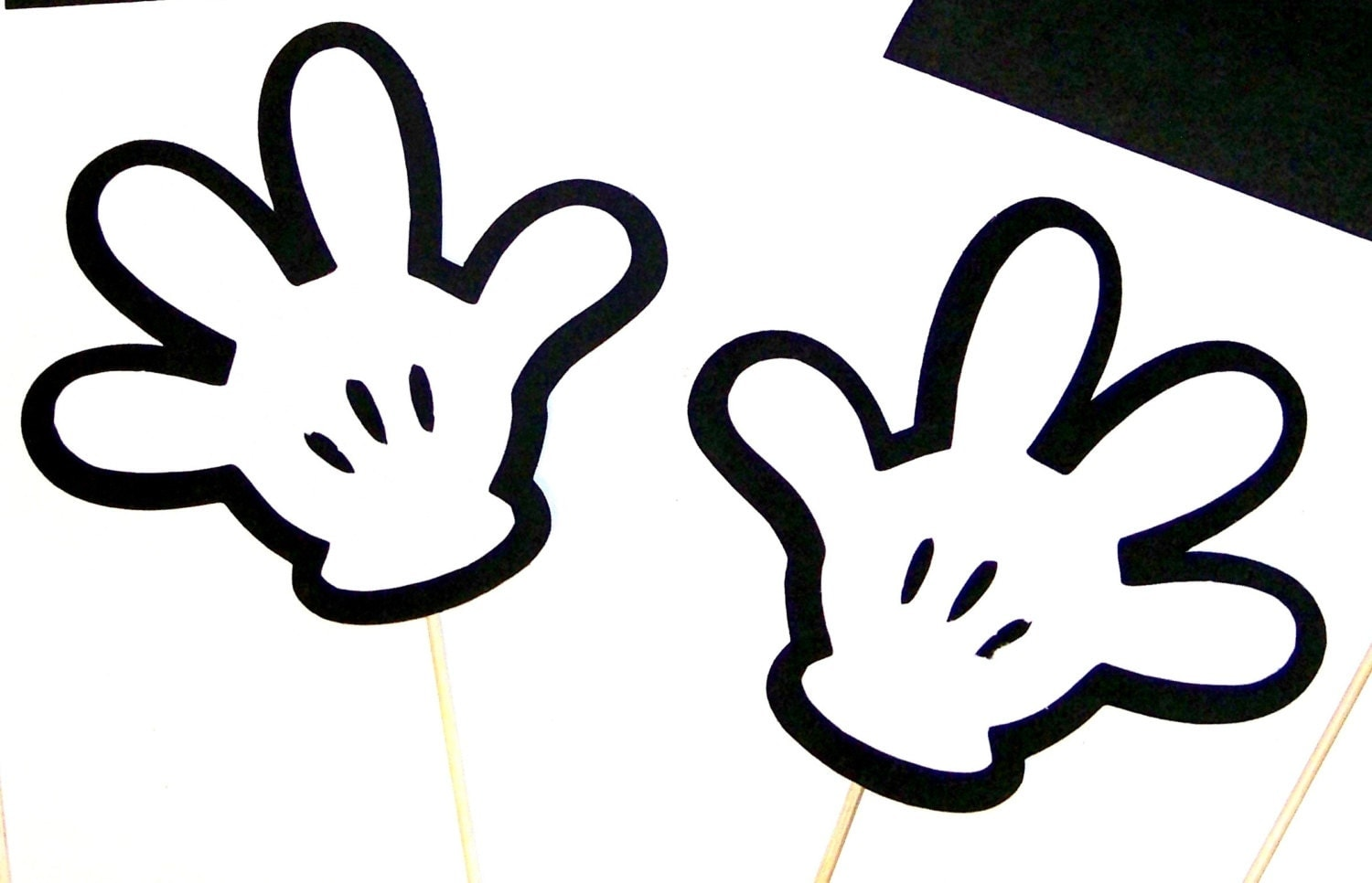 Fabulous image with mickey mouse hands printable