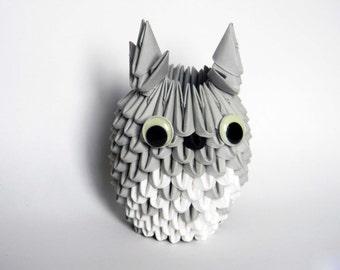 3D Origami Totoro
