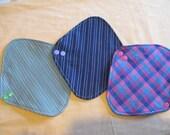 Panty Liner Starter Set. Fairtrade & Organic. Three liners.