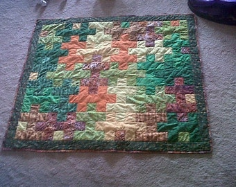 Puzzle Baby Quilt