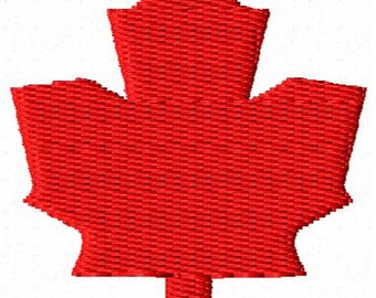 Mini Maple Leaf Embroidery Design
