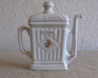 Vintage Porcelain Jug for Mineral Water 1959