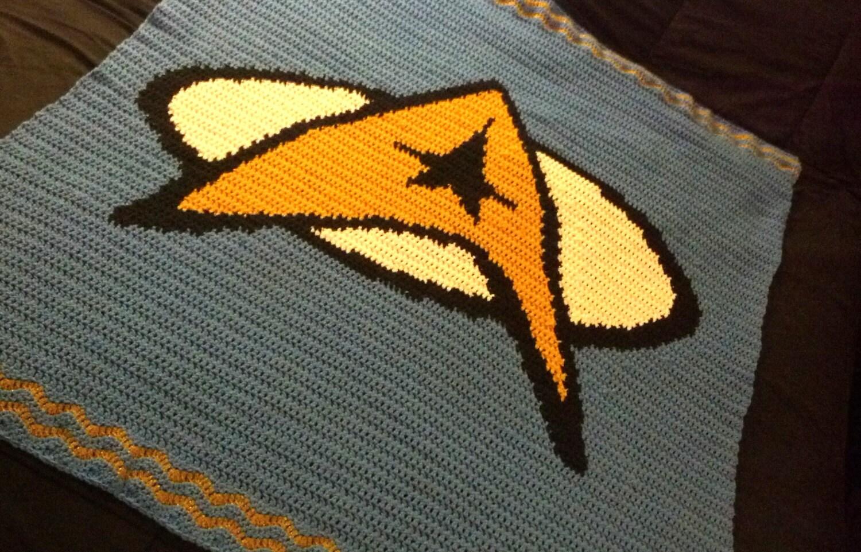 Star Trek Logo Lap Blanket