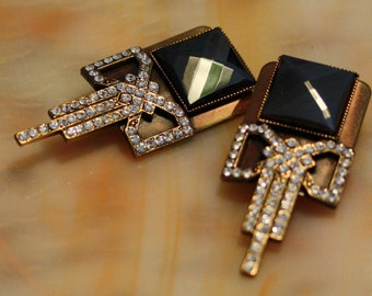 Vintage Ermani Bulatti Art Deco Earrings