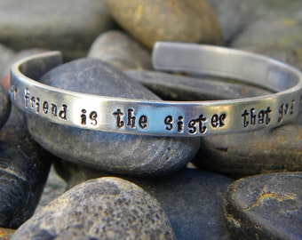 Best Friend Bracelet - A dear friend is the sister...