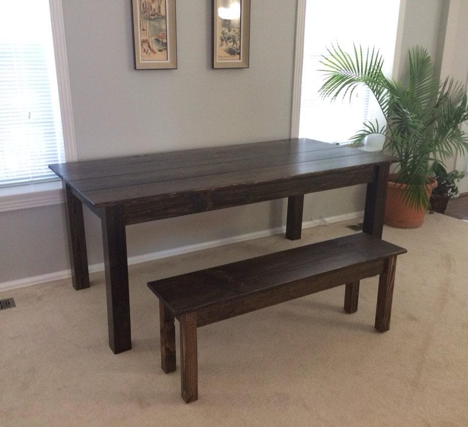 Rustic Farm Table / Dinning Table / Kitchen Table / Farmhouse