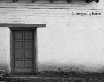 Black and White Photography, Mexican Architecture - Hacienda - Fine Art Photography