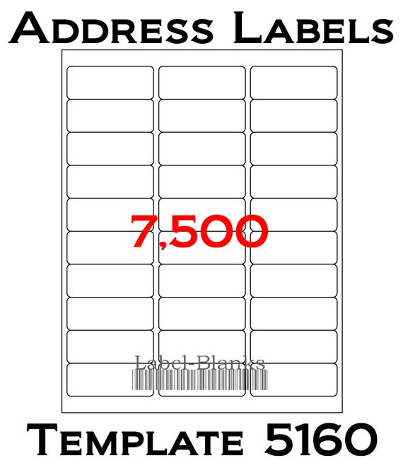 Laser ink jet labels 250 sheets 1 x 2 5 8 avery for 99 1 x 67 7 mm label template