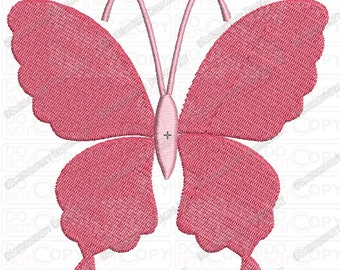 Pretty Butterfly Full Stitch Embroidery Design (6) in mini 2x2 3x3 4x4 and 5x5 Sizes
