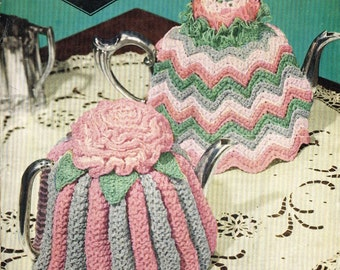 Copley 1900 vintage tea cosies knitting pattern PDF instant download
