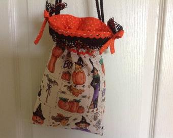 "Girl's Trick-or-Treat Bag--""Candi"""