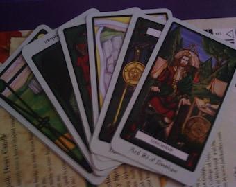 The Harsh Truth - 6 Card Spread