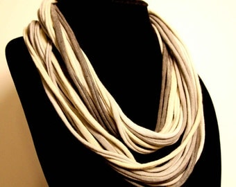 Cotton Jersey Necklace