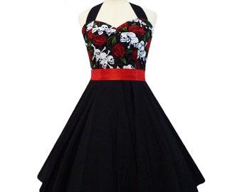 Plus Size Rockabilly Dresses Uk - Prom Dresses Cheap
