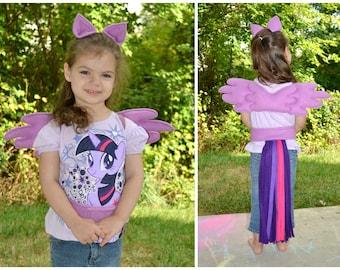 Fleece *Pegasus* Play-Set - My Little Pony  Choose your own colors