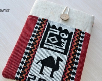 kindle paperwhite case, Kindle Fire Cover,  Kindle Sleeve, Kobo Aura Cover, Nook Glowlight Cover, Kobo Aura Case, Nook Case- Kilim