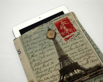 "EIFFEL/ MacBook Pro Case / 13"" MacBook Air Case / 13 MacBook Pro Case / MacBook Cover / MacBook Sleeve / MacBook Case 13"