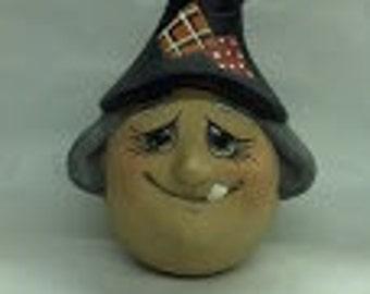 "Ceramic Witch ""Eggs-Pression"""