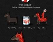 "Spaghetti Dog - 11x17"" Poster Print"