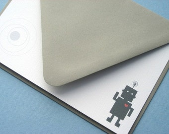 Mod Robot Stationery Set (8)