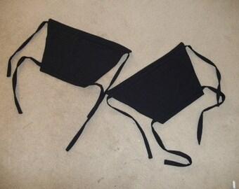 Made To Order Japanese Kyahan Leg Wraps Martial Arts Ninja Ninjitsu Leggings Samuri SCA