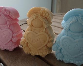 Girls soap handmade