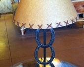 Horseshoe Table Lamp on H...