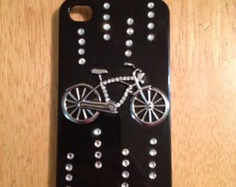 3D bike iPhone 4S case