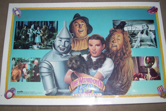 wizard of oz 50th anniversary placemats