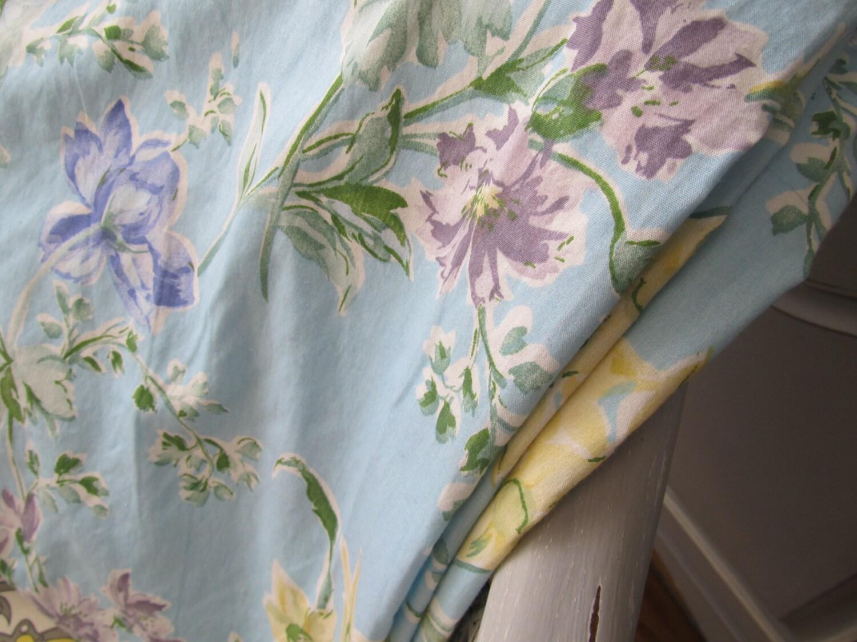 laura ashley un doubl rideau panneau tissu par vintagevivant. Black Bedroom Furniture Sets. Home Design Ideas