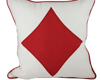 Diamonds, Tiles Cushion Cover. Pillow Cover.