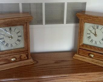 Michigan clock etsy for Colonial motors north highland mi