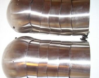 SCA, Adria, LARP, 15c Style German Gothic Spaulders Shoulder Armor, USA MAde