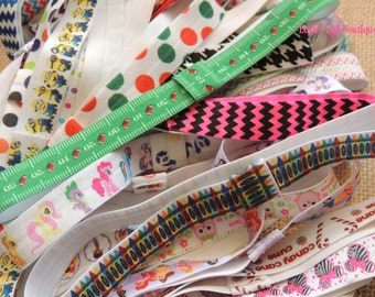 Choose 10 Printed Interchangeable Headbands for baby, kids and adults (FOE)