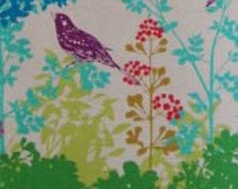 Echino Wish Green - DESTASH sale - Kokka Etsuko Furuya Fabric