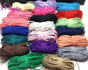 Grab bag 5 yards 1/8 skinny elastic, FOE, Wholesale elastic, diy headband, elastic by the yard, skinny elastic