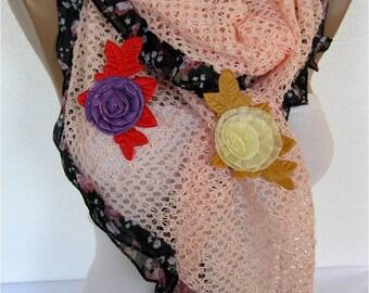 Scarf - Shawl  Elegant Scarf- Fashion Scar f-  Shawls-Scarves
