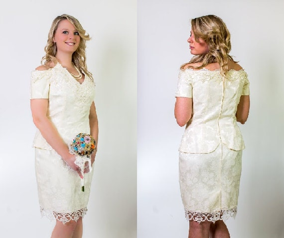 vente d 39 hiver robe de mari e de brocart par