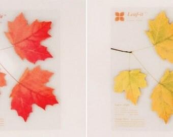 Sticky Note [Maple Leaf] / Notepad / Memopad
