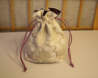 Japanese Flower Bag