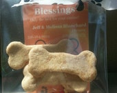Blanchard's Blessings Sample Bag of Organic Dog Treats~3 Treats in 3 Different Flavors