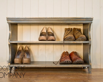 Shoe Rack Bench Storage - Available in a range of finishes