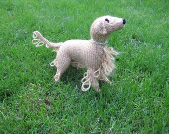 Knitted Golden Retriever