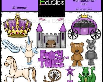 Fairy Tales Clip Art Bundle