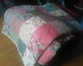 Beautiful Handmade Custom Patchwork Quilts, Made to order <3