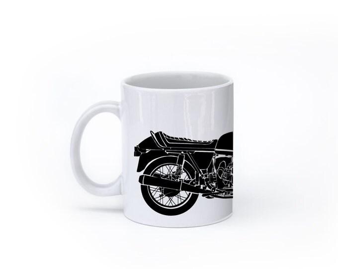 KillerBeeMoto: U.S. Made Coffee Mug Limited Release German Engineered Airhead Sport Motorcycle Motorcycle Mug (White)