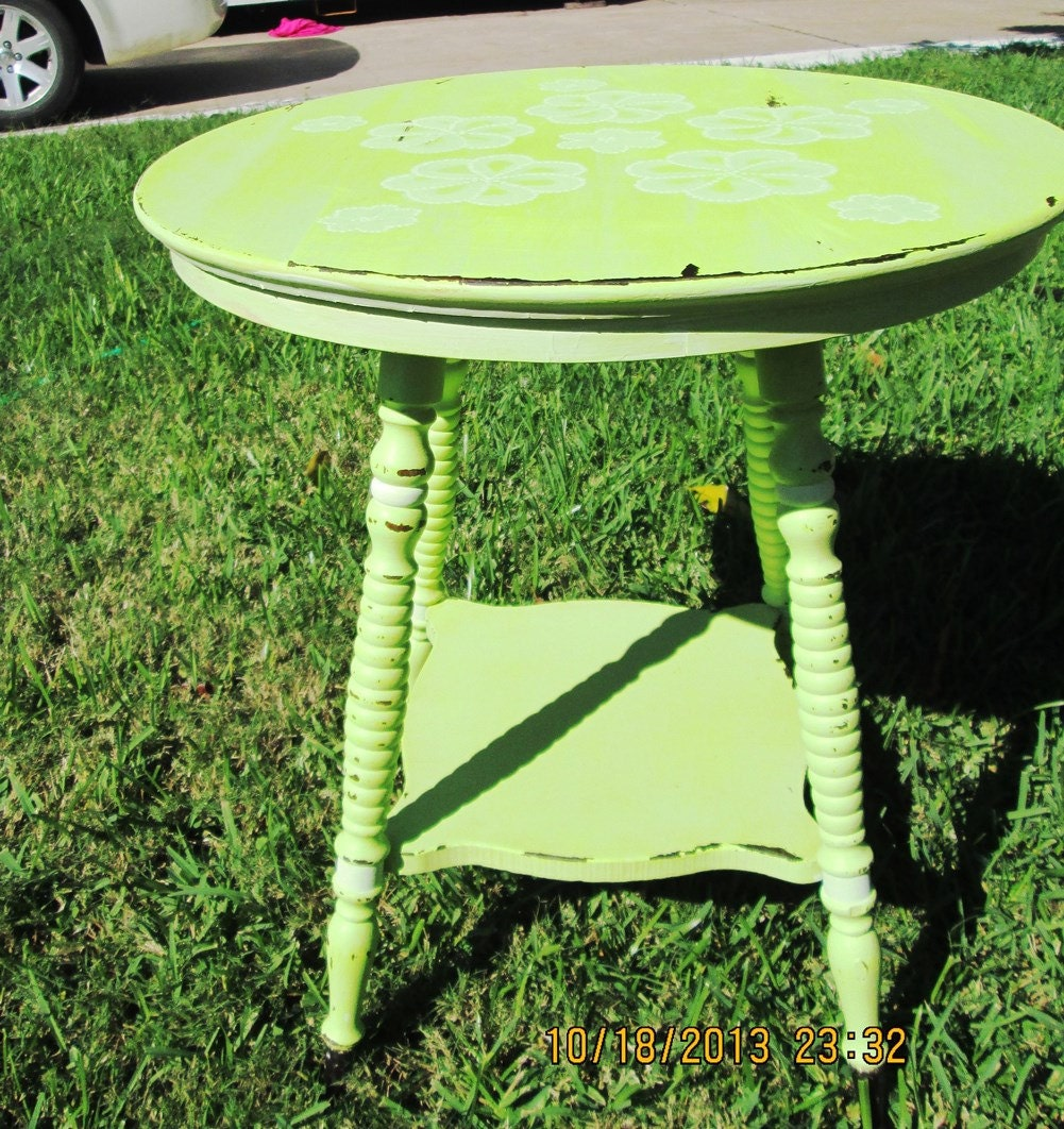 Vintage Blue Bedroom Bedroom End Tables Modern Master Bedroom Bed Designs Small Bedroom Decorating Ideas Pictures: SOLD! Shabby Chic Distressed Hand Painted Antique Vintage