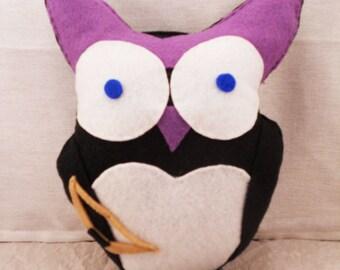 Hawk-Owl: Owl Plush